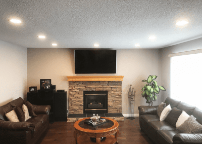 Living Room LED Potlights