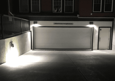 Parkade Driveway Lighting Upgraded to LED