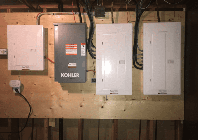 Essential Systems Generator Panels and Transfer Switch