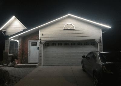 Permanent LED Christmas/Holiday Lighting